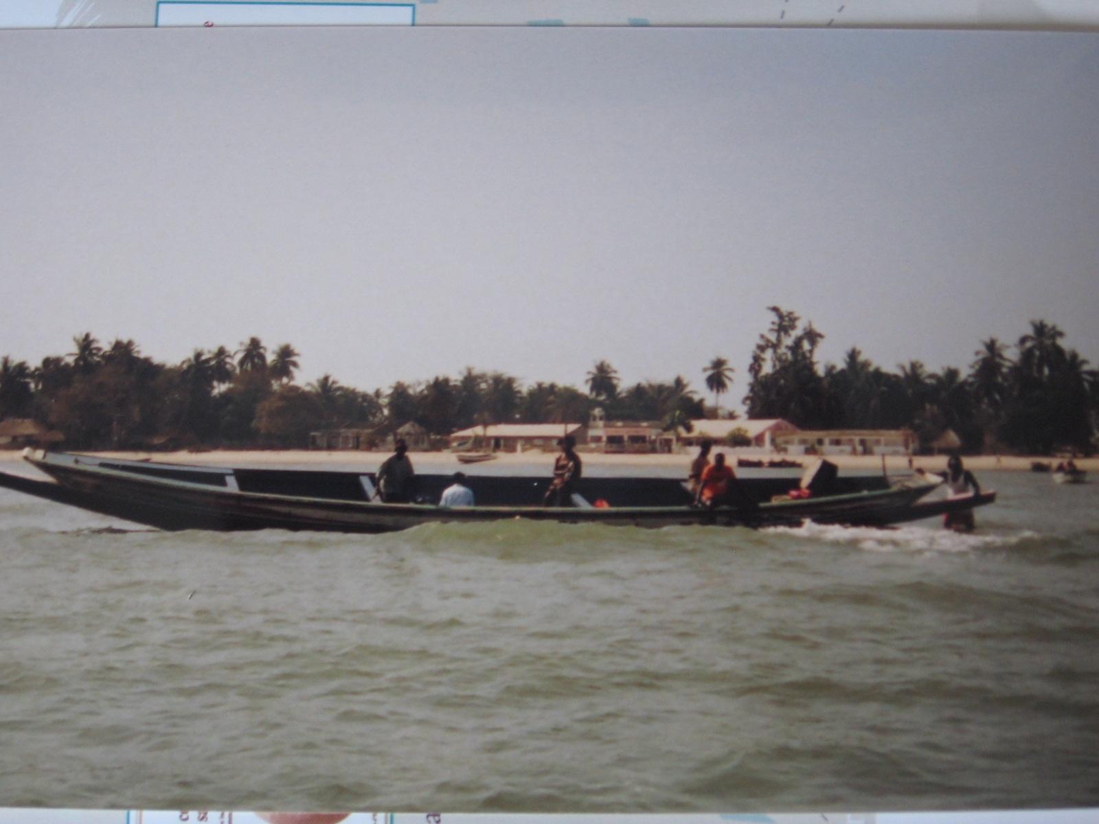 Carabane vue du fleuve